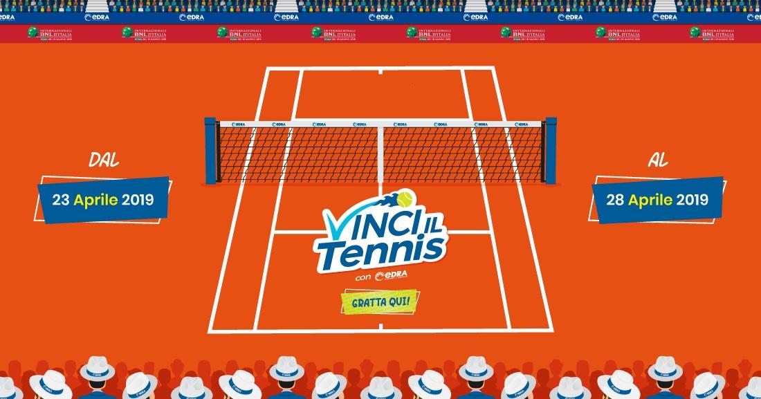 Gratta e Vinci il Tennis con EDRA